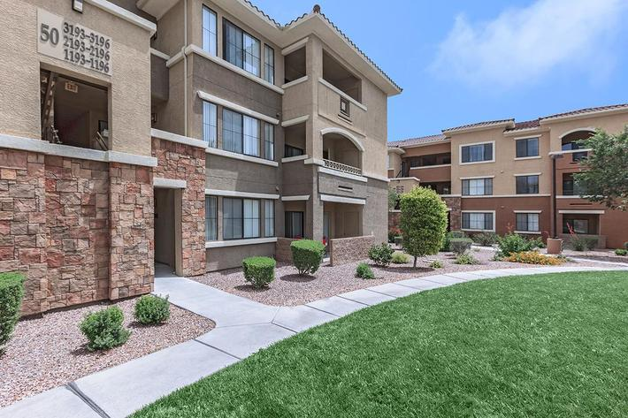 Take a Stroll here at The Presidio Apartments in North Las Vegas, NV