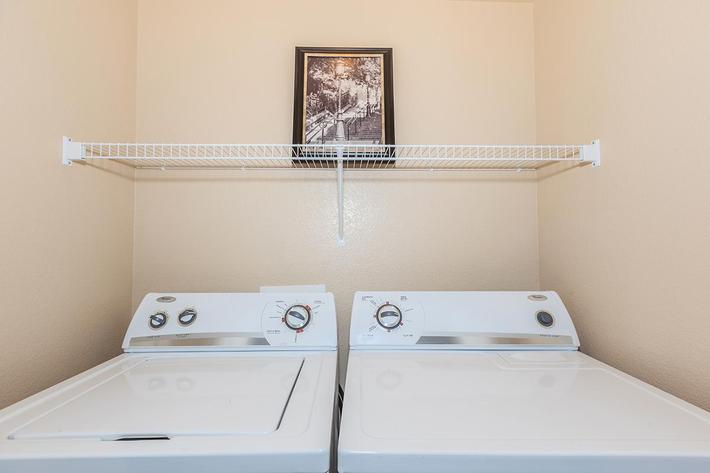 Full Size Washer and Dryer Included at The Presidio Apartments in North Las Vegas, NV