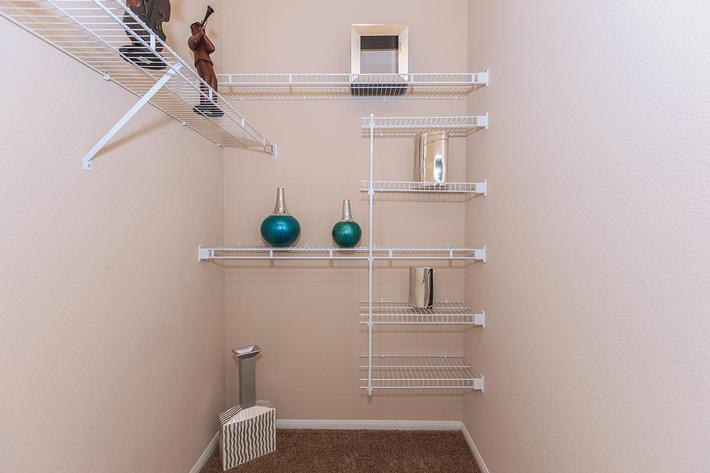 The Signature Walk-In Closet