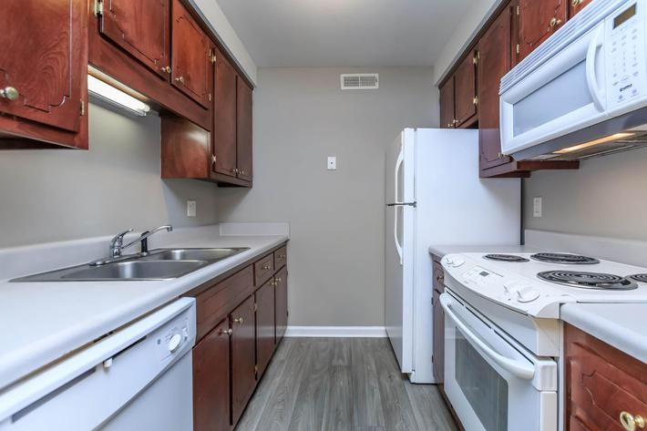 Fully equipped kitchen at Summertrees