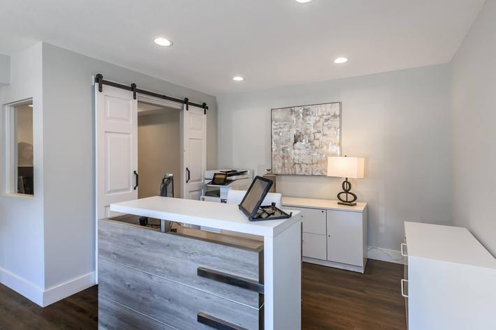 Visit the leasing office at Summertrees Apartments
