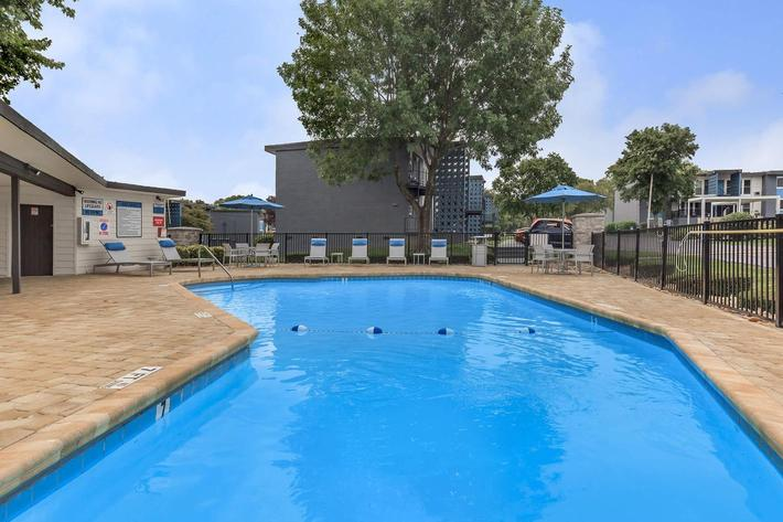 Shimmering pool