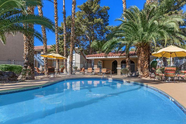 Pool at Rancho Vista in Las Vegas, NV