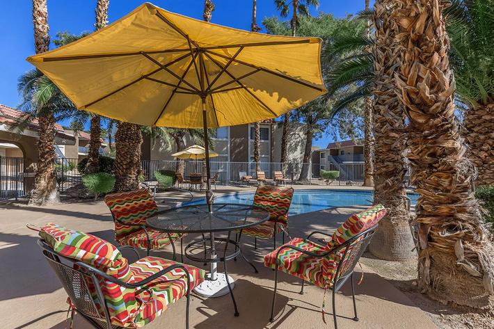 Relax by the Pool at Rancho Vista in Las Vegas, NV