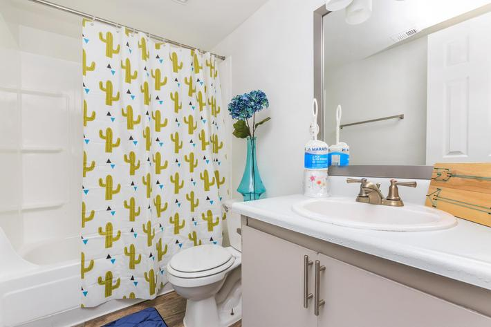 Charming Bathroom at Rancho Vista in Las Vegas, NV
