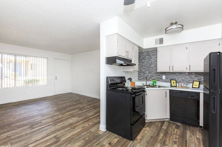 Modern Kitchen at Rancho Vista in Las Vegas, NV