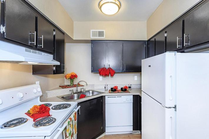 ALL-ELECTRIC KITCHEN AT RANCHO VISTA IN LAS VEGAS