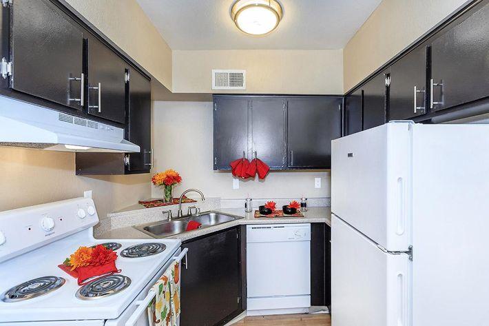 Enjoy An All-electric Kitchen at Rancho Vista in Las Vegas, NV