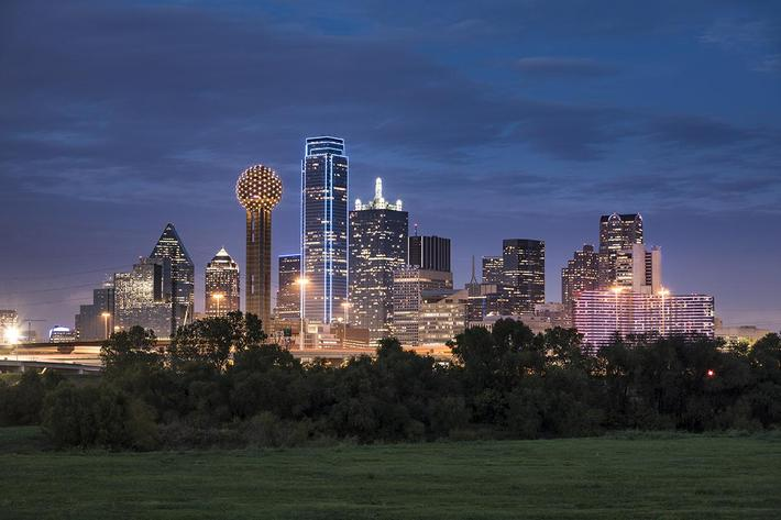 Dallas Texas Skyline and Reunion Tower iStock-638935444.jpg