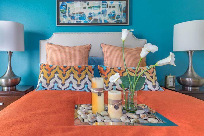 Spacious Bedroom at Grand Reserve Orange Apartments