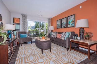 Your New Living Room at Grand Reserve Orange Apartments