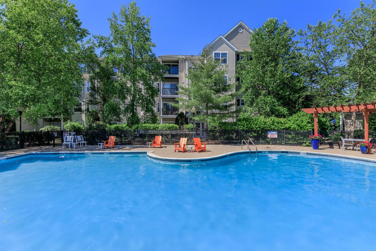 Take the plunge in your Grand Reserve Orange Apartments swimming pool