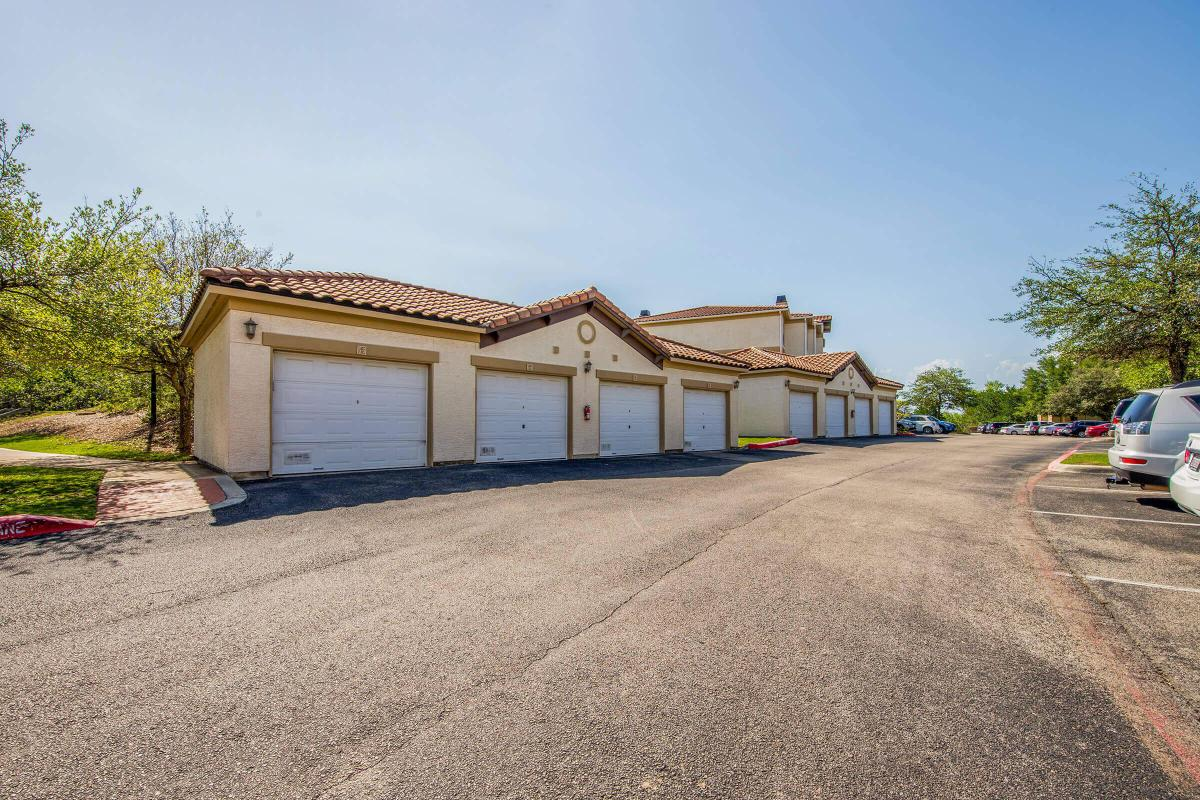 PRIVATE GARAGES AT THE HAVEN AT WESTOVER HILLS