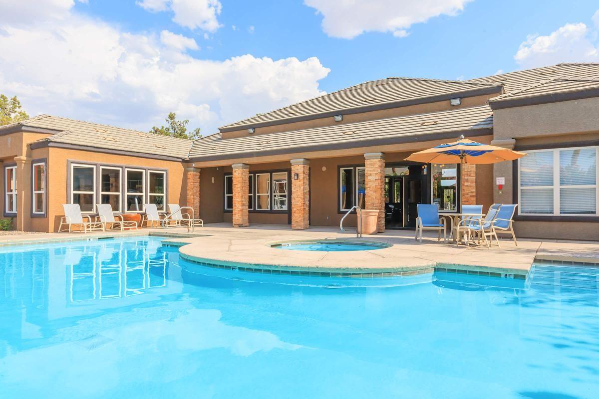 This is the pool at Pinehurst Condominiums Luxury Rentals
