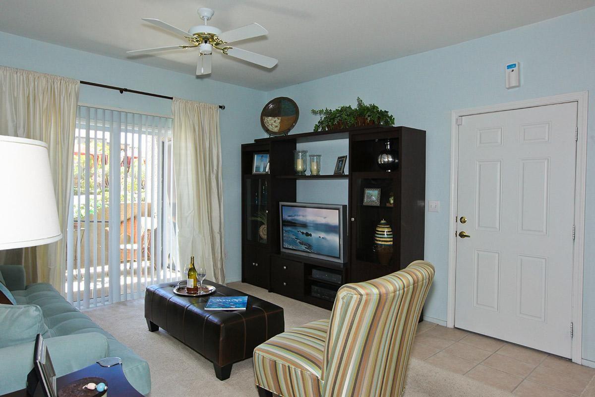 Your new living room at Pinehurst Condominiums Luxury Rentals