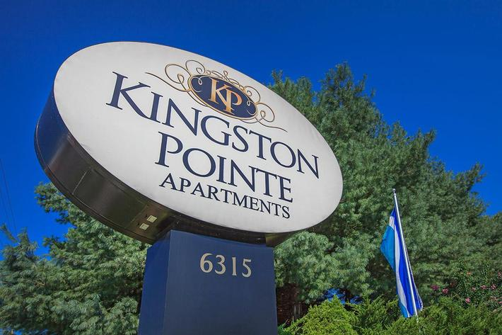 Kingston Pointe Apartment Monument Sign