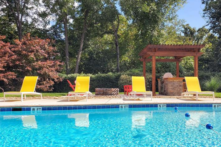 We have a saltwater pool at Kingston, TN