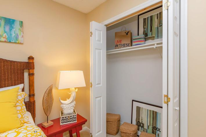 Ample Closet Space Here at Kingston Pointe Apartments in Knoxville, Tennessee
