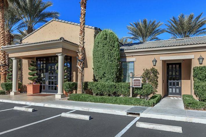 Leasing office in Las Vegas, Nevada