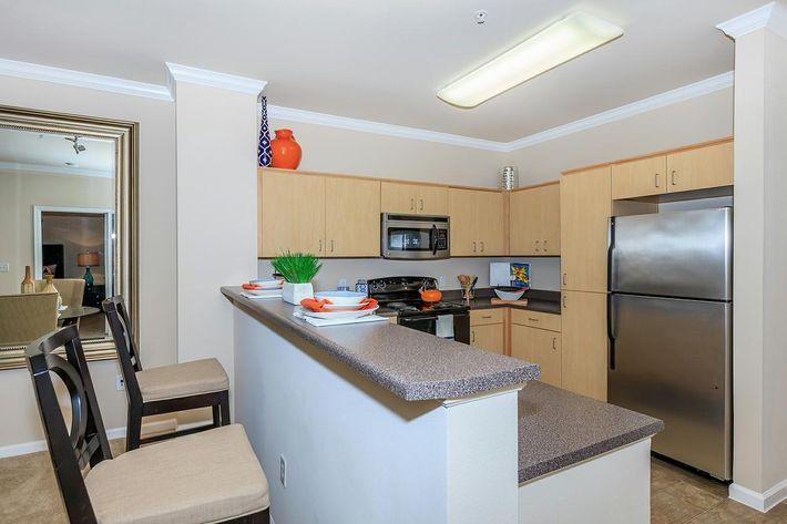 Palacio has all-electric kitchens