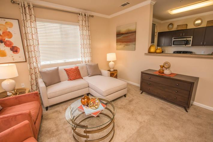 two bedroom apartment in Las Vegas, Nevada