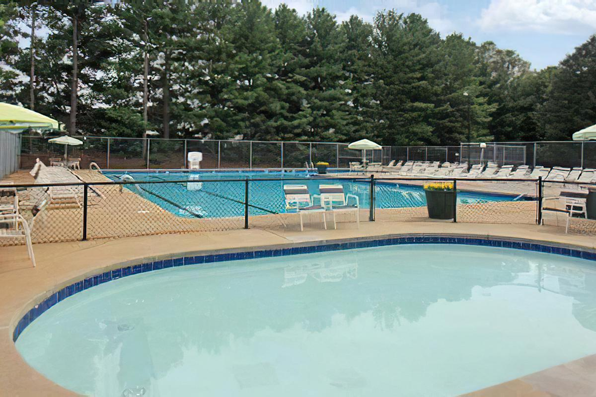 JR OLYMPIC SIZE POOL AND WADING POOL