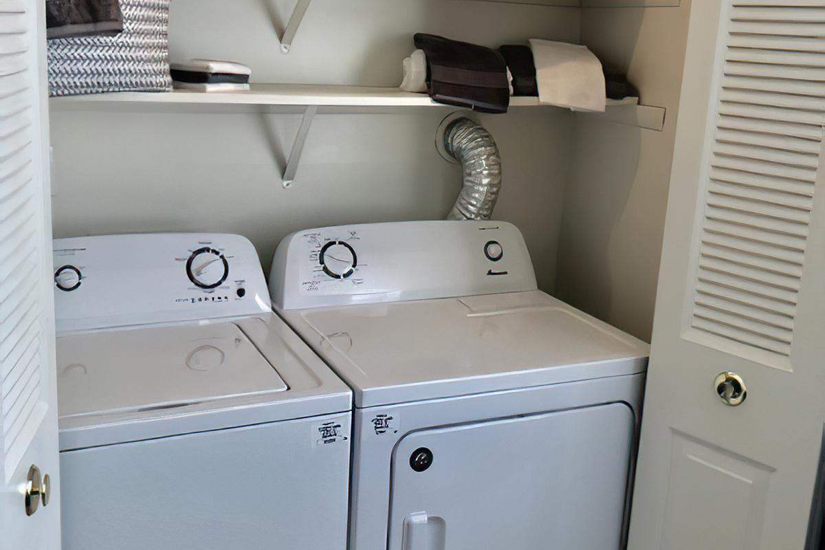 WASHER AND DRYER IN HOME