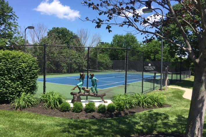 The Terraces at Forest Springs Apartments in Louisville, KY - Tennis Court 01.JPG