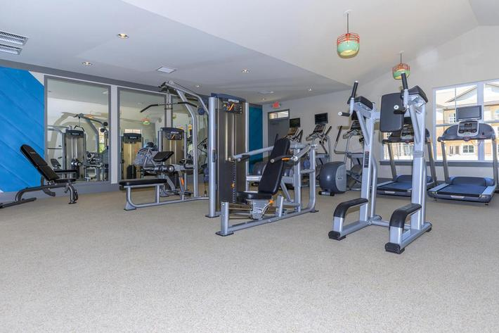 FITNESS CENTER AT THE LODGES ON SOUTH ENGLISH