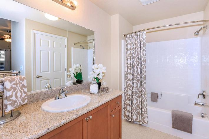 Enjoy the granite countertops in the homes at Boulder Creek