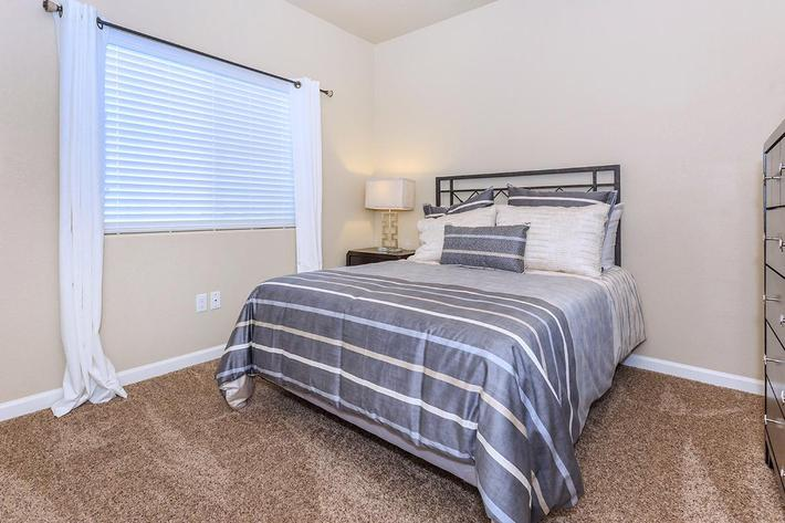 We offer two bedroom floor plans at Boulder Creek