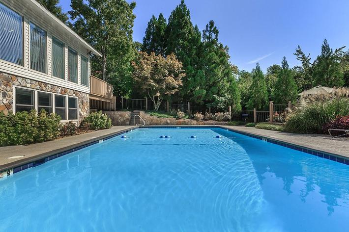 Shimmering Swimming Pool at Laurel Ridge Apartments
