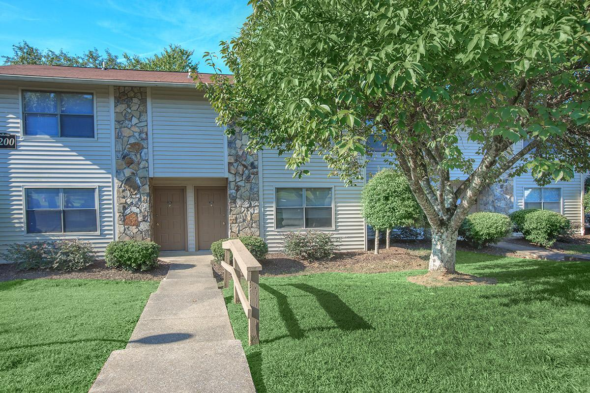 A Lovely Path To Your Front Door at Laurel Ridge Apartments
