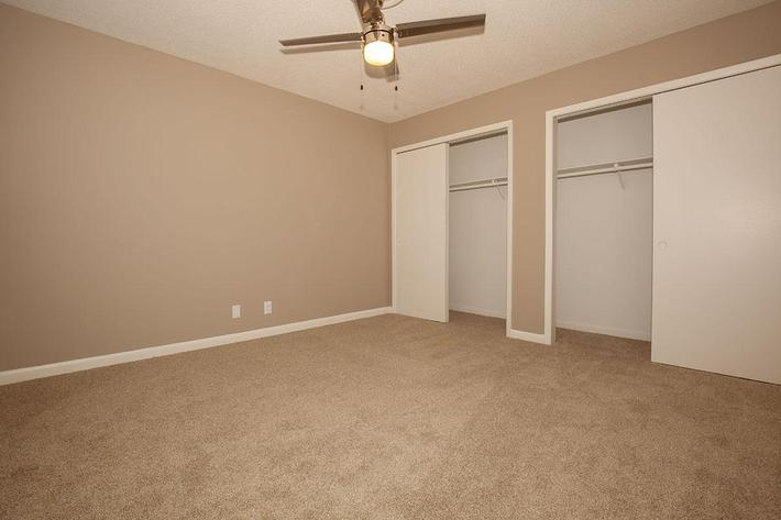 Plenty of Closet Space at The Bradford Deluxe at Laurel Ridge Apartments in Chattanooga, Tennessee