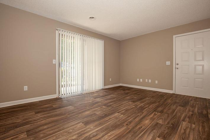 Beautiful Hardwood Floors at The Dogwood at Laurel Ridge Apartments in Chattanooga, Tennessee