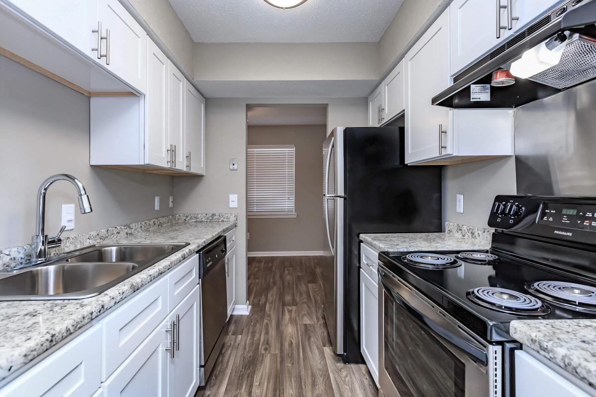 Well-Equipped Kitchen Here at The Magnolia at Laurel Ridge Apartments in Chattanooga, Tennessee