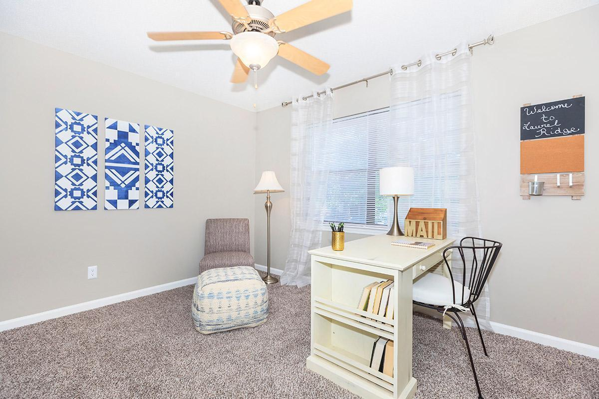Spacious Bedrooms at Laurel Ridge Apartments in Chattanooga, Tennessee
