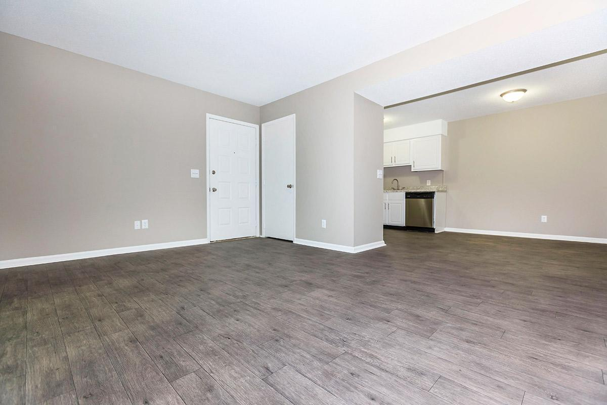 This is the Willow Large One Bedroom at Laurel Ridge Apartments