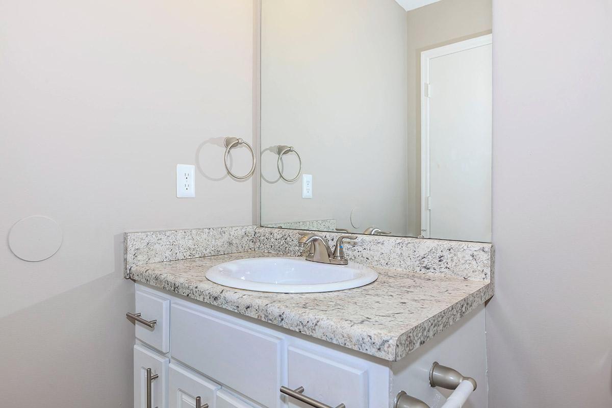Lovely Bathroom Countertops at Laurel Ridge Apartments in Chattanooga, TN