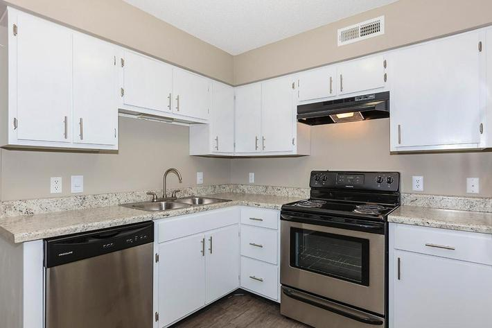 Bradford Deluxe Two Bedroom Apartment Features Stainless Steel Appliances