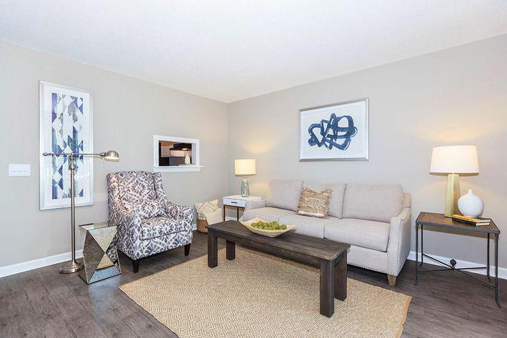 Two Bed  Magnolia Floor Plan at Laurel Ridge Apartments