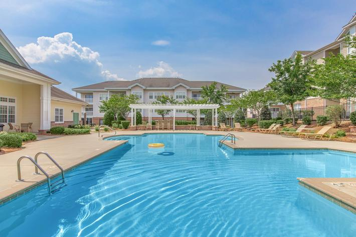 Take A Dip In Our Shimmering Swimming Pool In Heather Ridge In Charlotte, NC
