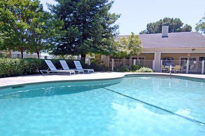 This is the pool at Lake Ridge