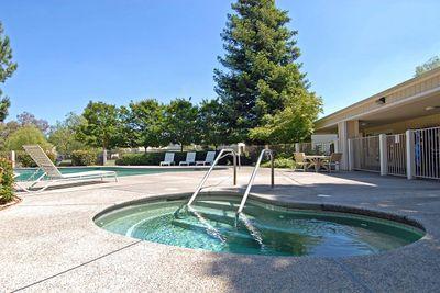 Lake Ridge has two swimming pools with spas