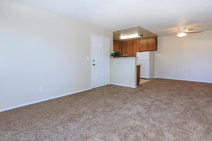 This is a one bedroom floor plan at Lake Ridge