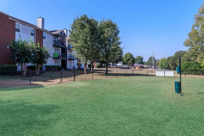 Discover our pet park here at Graymere in Columbia, Tennessee