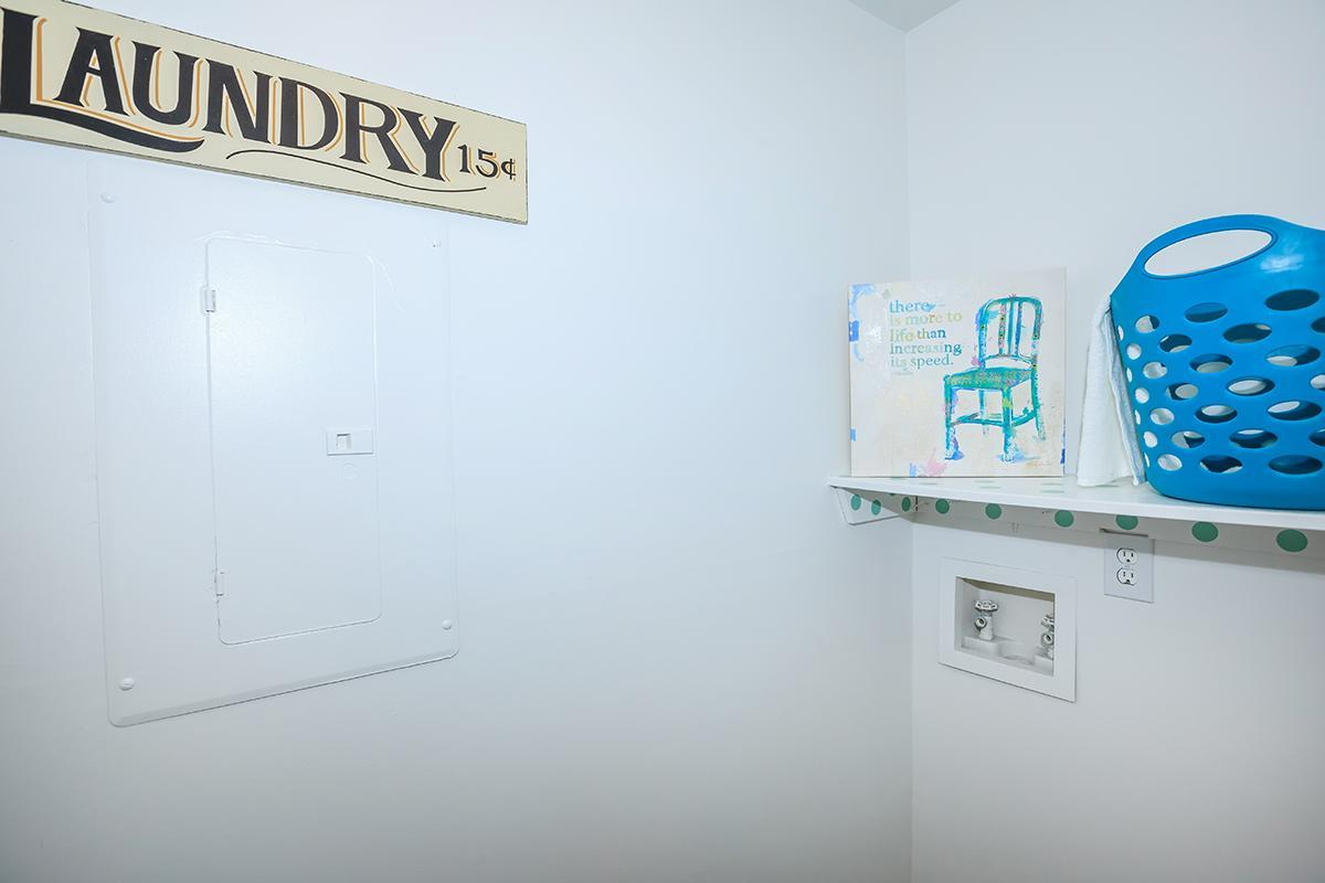 Spacious Laundry Room With Kookups