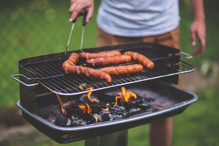 Show off your grilling skills at our picnic area with barbecue