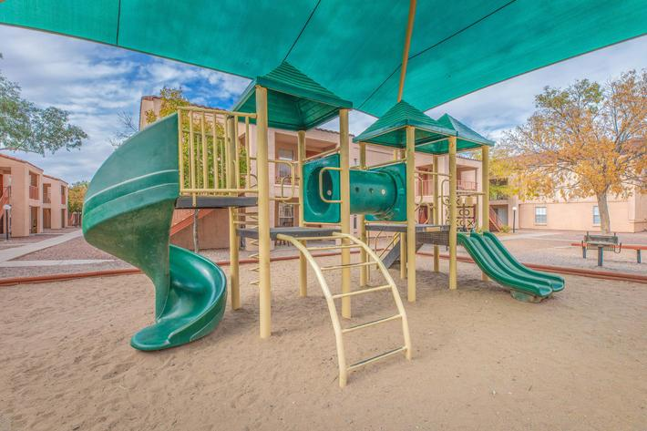 Unwind and cheer at the play area in Tucson, AZ