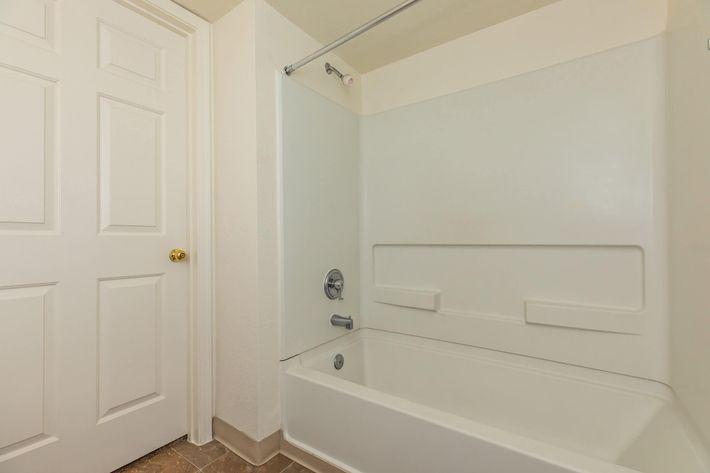 Modern bathrooms at La Posada